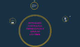 Copy of DEFINICIÓN, NATURALEZA, IMPORTANCIA Y TIPOS DE CONTROL