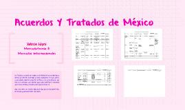 Tratados en México
