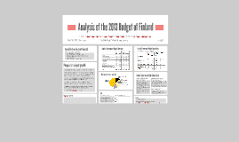 2013 Bugdet of Finland Analysis