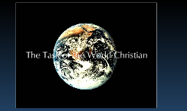 "Being A ""World Christian"""