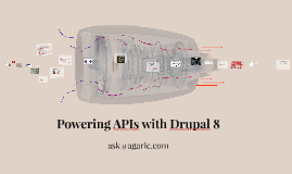 Powering APIs with Drupal 8