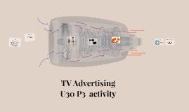 TV Advertising U30 P3  activity