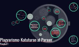 Plagyarismo: Paraan at Katuturan