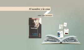 El nombre y la cosa de José Saramago