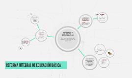 REFORMA INTEGRAL DE EDUCACIÓN BÁSICA