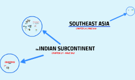YODER | ch.21/24 South/Southeast Asia | GEOGRAPHY