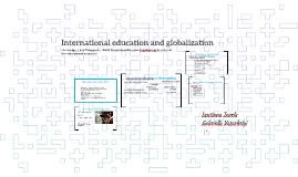 Internationalism and Globalisation