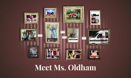 Meet Ms. Oldham