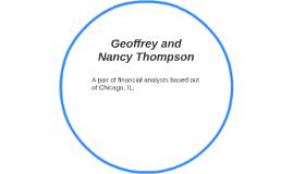 Geoff and Nancy Thompson