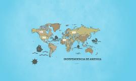 INDEPENDENCIA DE AMERICA