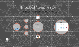 Embedded Assessment 2A