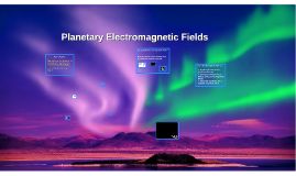 Planetary Electromagnetic Fields