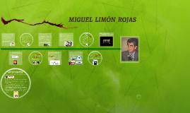Copy of MIGUEL  LIMÓN  ROJAS
