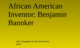 Benjamin Bannker
