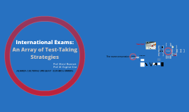 Copy of International Exams: an Array of Test-Taking Strategies