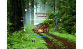 Planning go to camping?