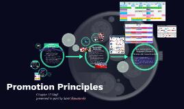 Promotion Principles