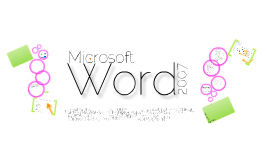 Copy of Copy of MS Word 2007