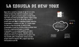 La escuela de new york