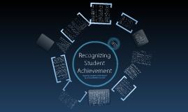 Recognizing Student Achievement