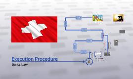 Execution Procedure