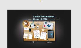 Senior Presentation 2018-19