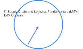  Supply Chain and Logistics Fundamentals (MITx EdX Course)