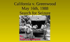California v Greenwood