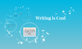 Writing is Cool