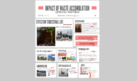 IMPACT OF WASTE ACCUMULATION