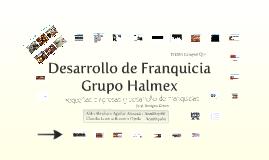 Desarrollo de franquicias. Grupo Halmex