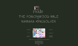 Inside The Poisonwood Bible: Exploring Barbara Kingsolver's Author Craft