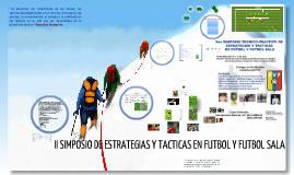 2do Simposio teorico-practico tactica y estrategias en futbol