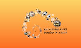 PRINCIPIOS EN EL DISEÑO DE INTERIORES