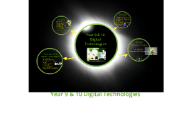 Year 9 &  10 Information, Communication and Technology (ICT)