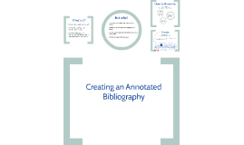 Copy of Creating an Annotated Bibliography