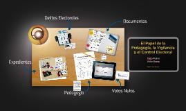 Pedagogía, Vigilancia y Control Elector