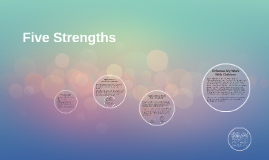 Five Strengths