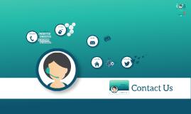 Copy of Free - Contact Us prezi template