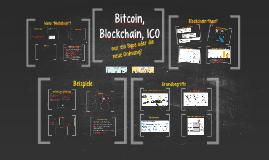 Bitcoin, Blockchain, ICO