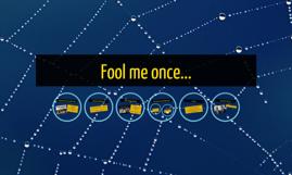 Fool me once...