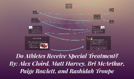Athletes Special Treatment