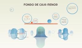 FONDO DE CAJA MENOR