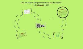 """""""Av. de Mayo-Diagonal Norte-Av. de Mayo"""""""