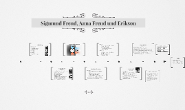 Sigmund Freud, Anna Freud und Erikson