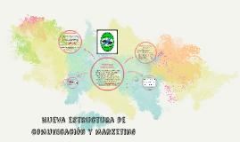 Nueva estructura de comunicación y marketing