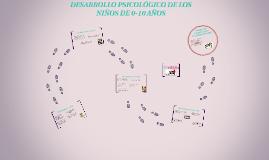 DESARROLLO PSICOLÓGICO DE LOS NIÑOS DE 0-10 AÑOS