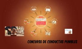 CONCURSO DE CONDUCTAS PUNIBLES