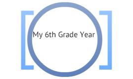 6th grade year