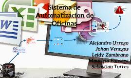 Sistema de Automatizacion de Oficinas